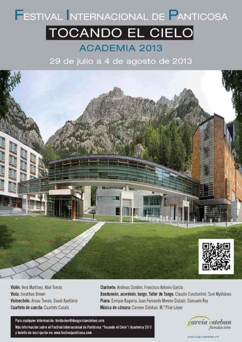 Academia 2013 del Festival Internacional de Panticosa Tocando el Cielo (FIP)