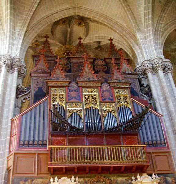 Órgano de la Catedral del La Seo  de Zaragoza