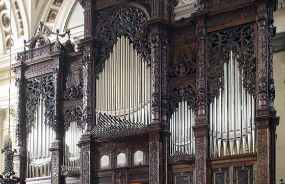 Órgano del Pilar de Zaragoza