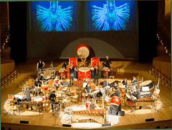 Percusiones del CSMA estrenan en España dos obras inéditas en la Fundación Juan March