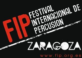 FESTIVAL INTERNACIONAL DE PERCUSIÓN. ZARAGOZA 2015. Entre el 4 de febrero y el 27 de junio
