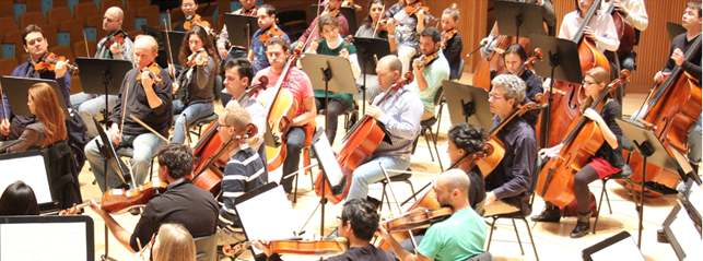Convocatoria para cubrir 14 vacantes en la Orquestra de la Comunitat Valenciana (OCV).
