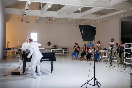 Residencias para musicos en Nueva York en la Fundación Robert Rauschenberg