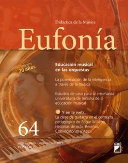 Sumario de Eufonía. Didáctica de la música. nº 64