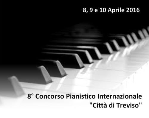 """8º Concurso Internacional de Piano """"Ciudad de Treviso"""""""