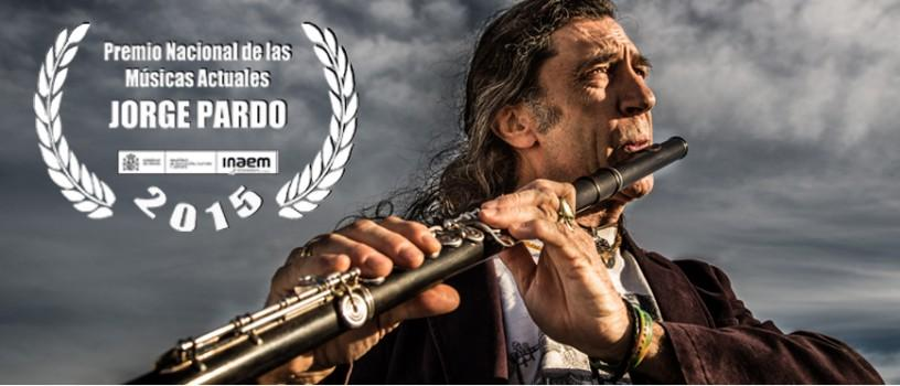 Jorge Pardo recibe el Premio Nacional de las Músicas Actuales 2015