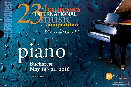 Concurso internacional de piano Dinu Lipatti 2016