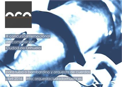 III Concurso Internacional de Composición Ciudad de Orihuela