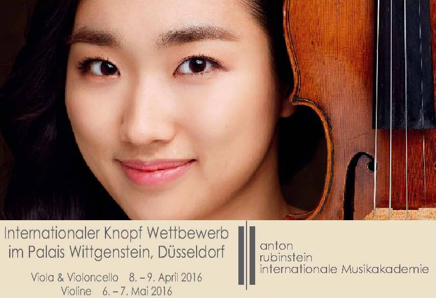 International Knopf Competition 2016 para Violin, Viola y Violoncello