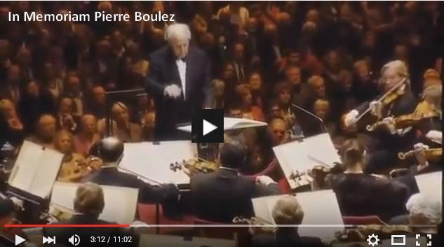 In Memoriam Pierre Boulez (26.03.1925-05.01.2016)