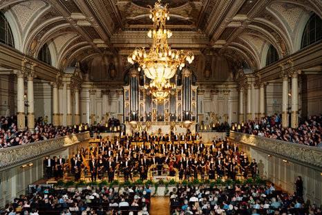 Plaza de violín para la Orquesta Tonhalle de Zúrich