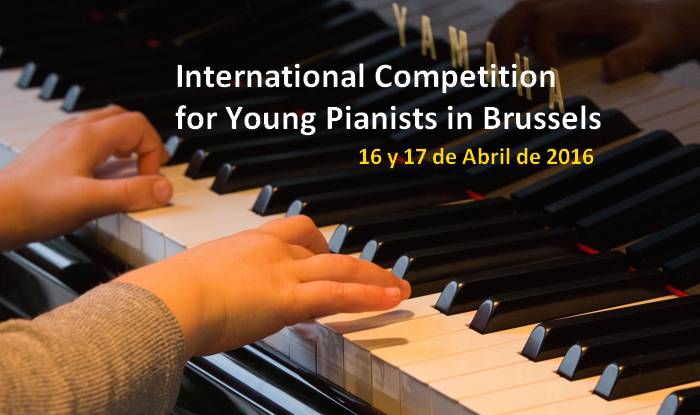 International Competition for Young Pianists in Brussels