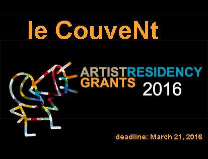 Becas de residencia en Le CouveNT 2016 (Francia)