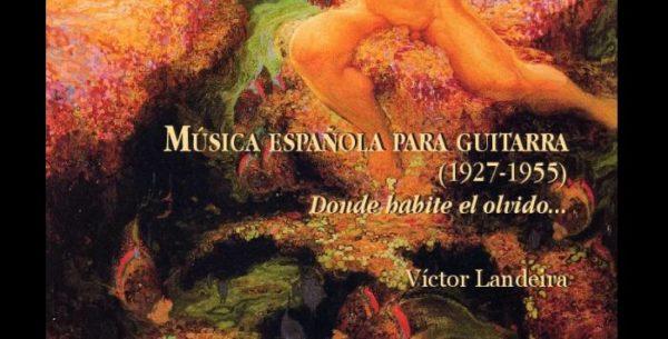 CD Recomendado: Música española para guitarra (1927-1955)