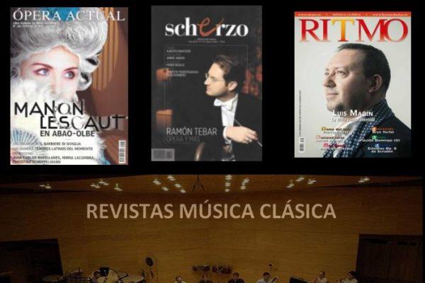 Sumarios de Scherzo, Ópera Actual y Ritmo. Febrero 2016