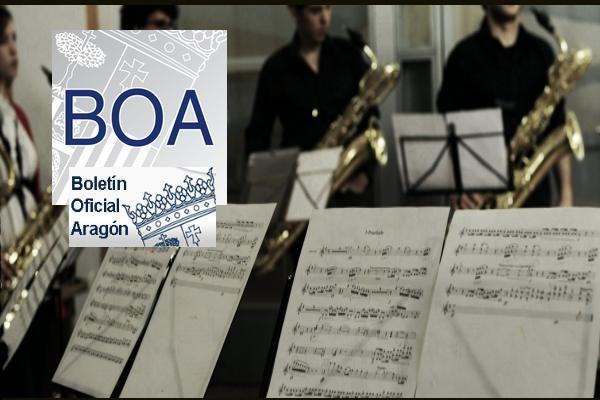 Publicadas las plantillas de Profesores de Música en C. Públicos de Aragón