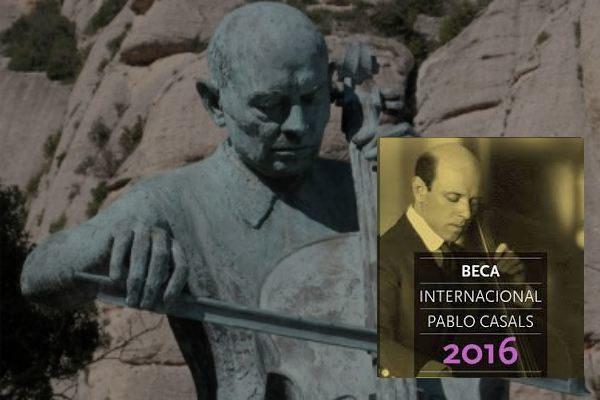 CONVOCATORIA 2016 DE LA BECA INTERNACIONAL PAU CASALS