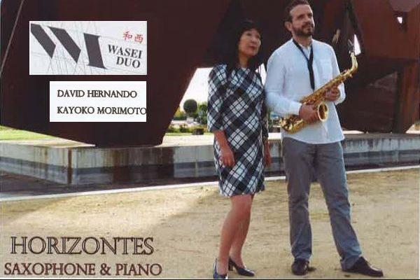 """WASEI 和西 DÚO presenta """"Horizontes"""" - Saxophone & piano"""