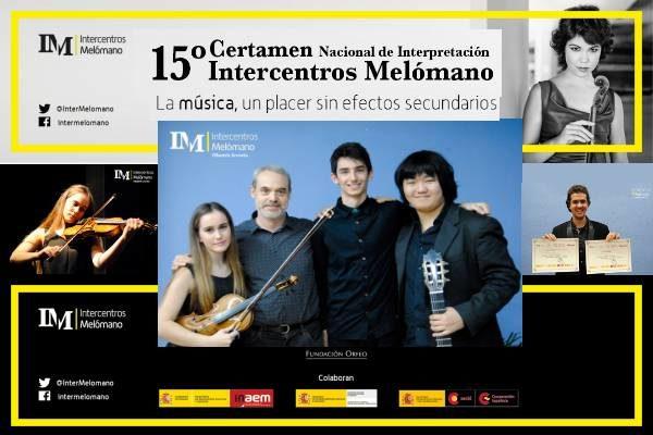 """Certamen Nacional de Interpretación """"Intercentros Melómano"""" 2016"""