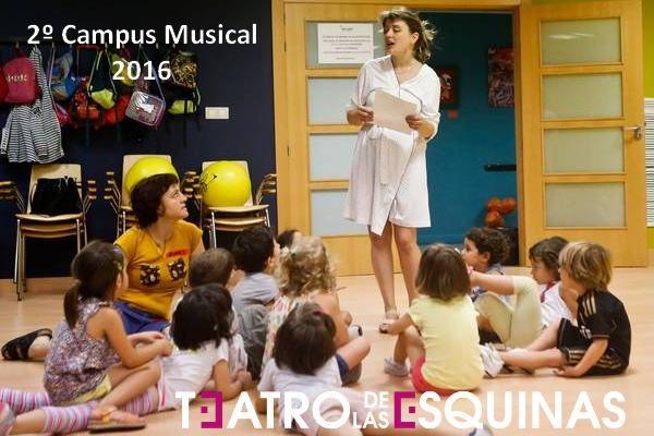 2º Campus Musical - Verano 2016 - Teatro de las Esquinas