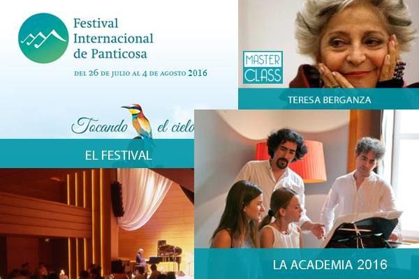 """ACADEMIA 2016. Festival Intern. de Panticosa """"Tocando el Cielo"""""""