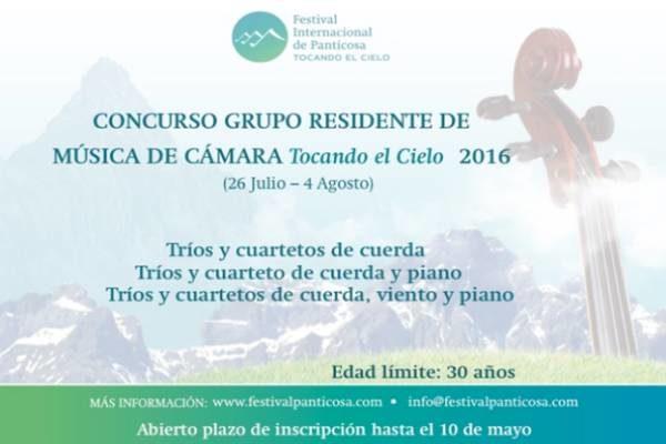 """CONCURSO - GRUPO RESIDENTE EN """"TOCANDO EL CIELO"""" 2016"""
