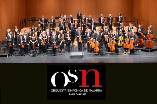 """1 plaza de violín en la Orquesta Sinfónica de Navarra """"Pablo Sarasate"""""""