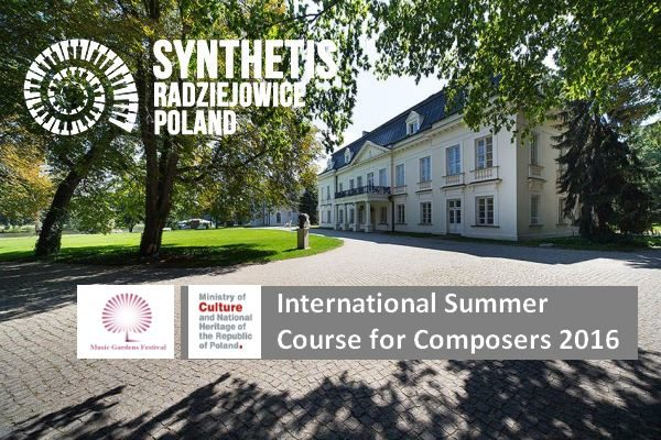 International Summer Course for Composers 2016. Polonia