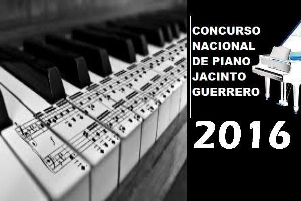 29º Concurso Nacional de Piano Jacinto Guerrero 2016