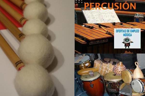 Plaza de profesor superior de percusión en Sevilla