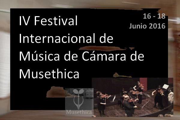 IV Festival Internacional de Música de Cámara de Musethica
