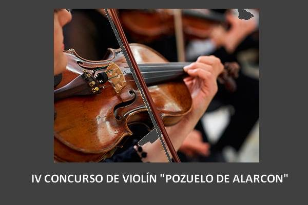 """4º Concurso de violín """"Pozuelo de Alarcón"""" 2016"""