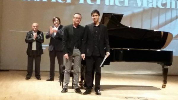 Magí Garcías Frau premio del VII Concurso de piano Gabriel Teruel Machí