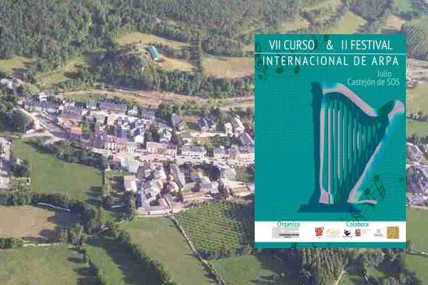 VII Curso y II Festival Internacional de Arpa / Castejón de Sos: 18 -22 Julio