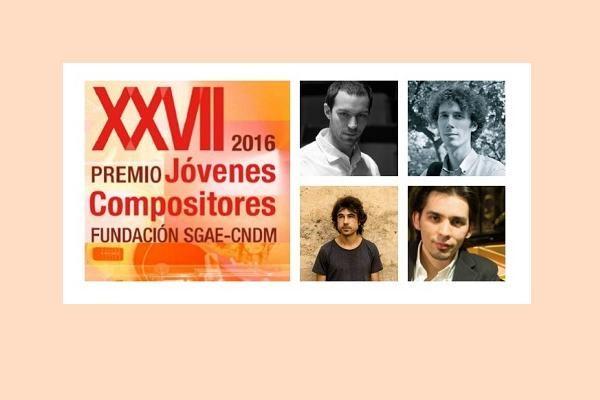 Elegidos los finalistas del XXVII Premio Jóvenes Compositores (2016)
