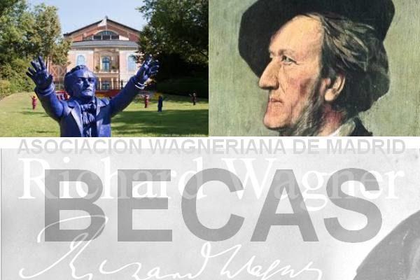 Sexto Concurso de Becas para jóvenes intérpretes de la Asociación Wagneriana de Madrid