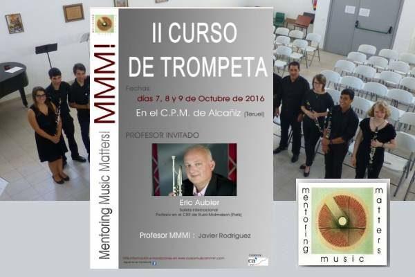 II Curso de Trompeta MMM! con Eric Aubier