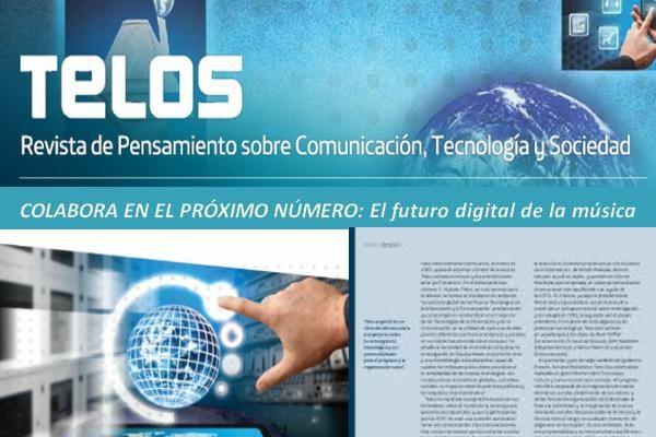 El futuro digital de la música. Colaboraciones abiertas TELOS nº 106