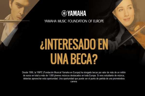 Beca para piano de Yamaha Music Foundation of Europe
