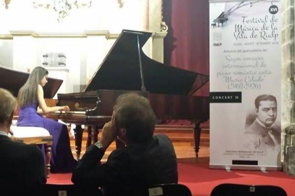 """Patricia García Gil primer premio en el Concurso Internacional """"Mario Calado"""""""