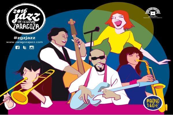 Noviembre 2016 el mes del Jazz en Zaragoza con la 33 edición del Festival