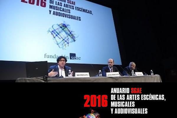 Presentado el Anuario SGAE 2016. Leve recuperación de la música