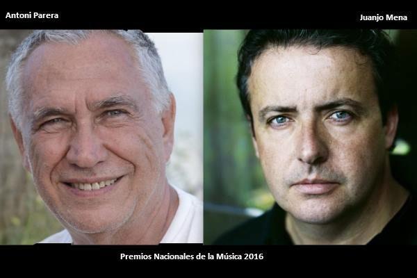 Juanjo Mena y Antoni Parera, son los Premios Nacionales de Música 2016
