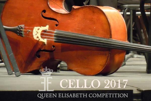 Cello 2017. Queen Elisabeth Competition. Bruselas