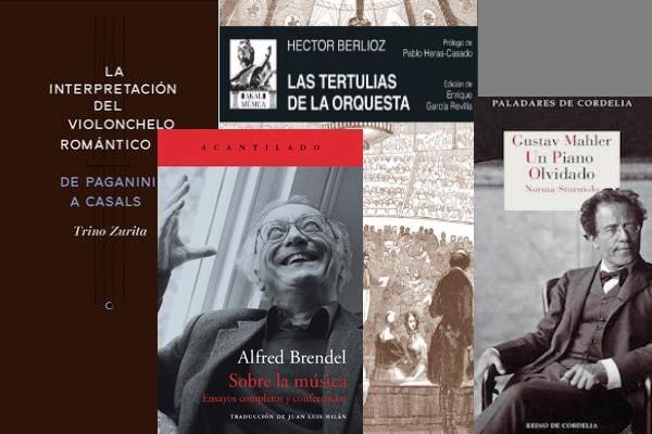 4 libros de música recomendados / Noviembre de 2016