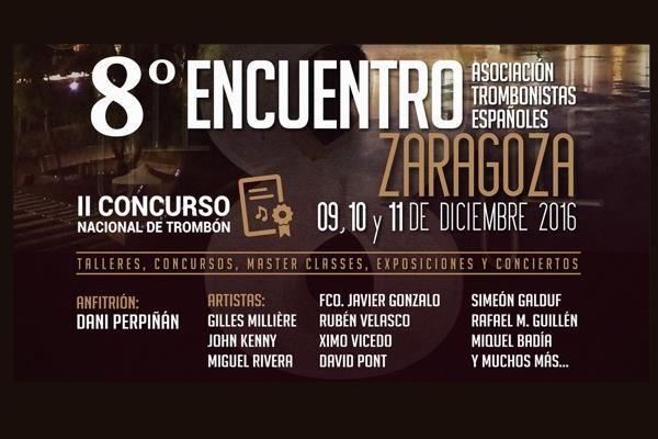 II CONCURSO NACIONAL DE TROMBÓN. ZARAGOZA, 10 / 11 DICIEMBRE 2016
