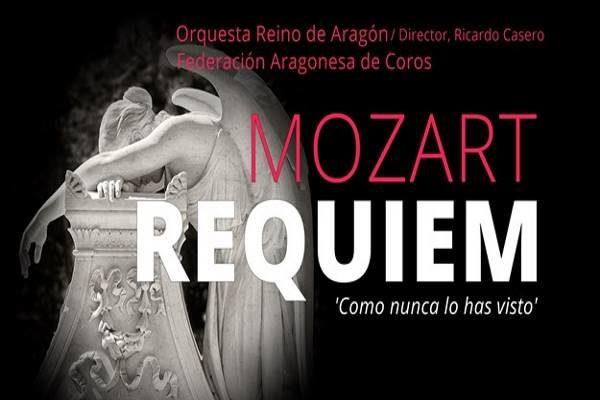 Pruebas para solistas en la La Orquesta Reino de Aragón en el Réquiem