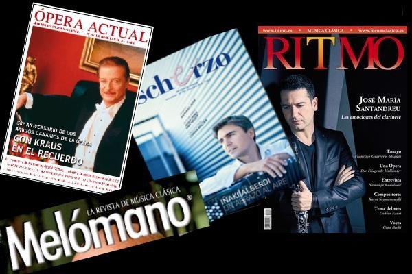 Sumarios de Ritmo, Scherzo, Ópera Actual, y Mélomano: Diciembre 2016