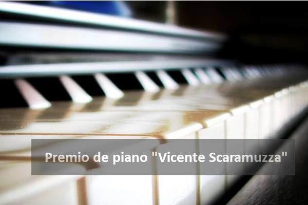 """Premio para estudiantes de piano """"Vicente Scaramuzza"""""""