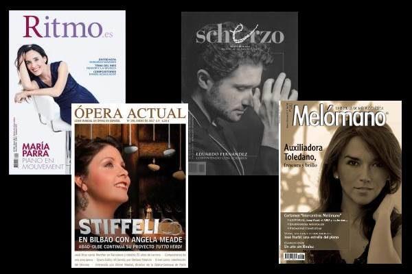 Sumarios de Ritmo, Scherzo, Ópera Actual, y Mélomano: Enero 2017